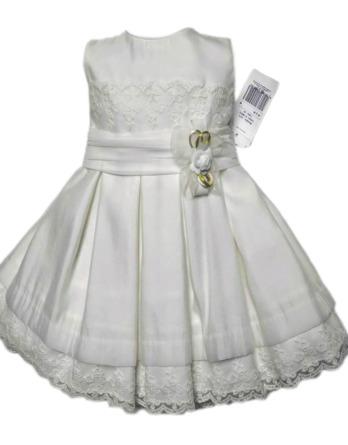 Vestido niña crudo lazo crudo 1013_CRUDO