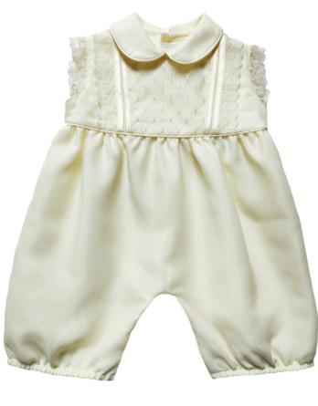 Ranita de bebe de raso cruda