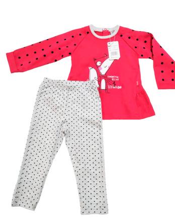 Conjunto de leggings lunares de niña