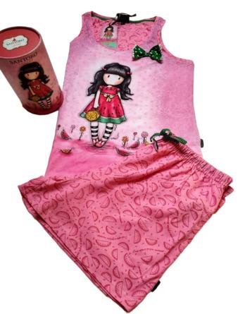 Pijama de señora verano s/m Santoro sandías 509540