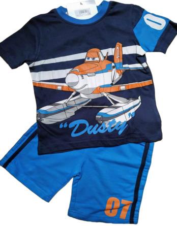Conjunto de niño verano m/c pantalón corto super wings N04145