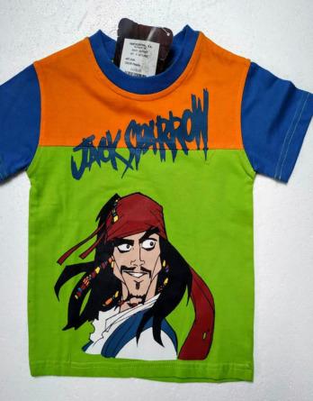 Camiseta de niño verano m/c Piratas del Caribe 2048