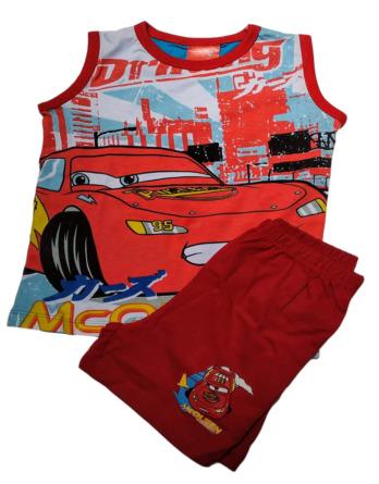 Pijama de niño s/m Cars rojo y gris4030009