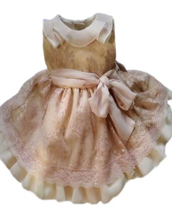 Vestido de niña de encaje maquillaje 4419
