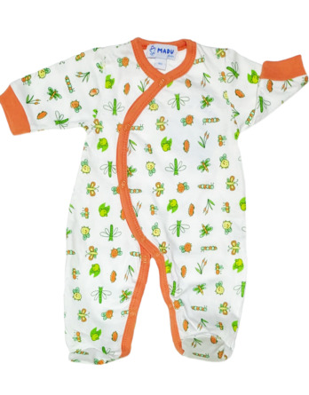 Pelele de niño bebé m/l abierto blanco93325