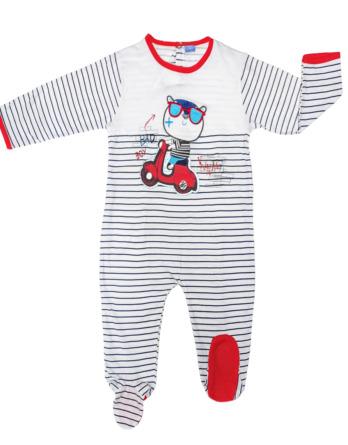 Pelele de niño bebé m/l moto marinoAS52
