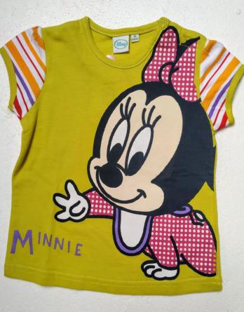 Camiseta de niña m/c Minnie pistachoE03167