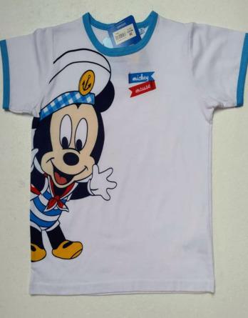 Camiseta de bebé niño verano m/c Mickey G02153