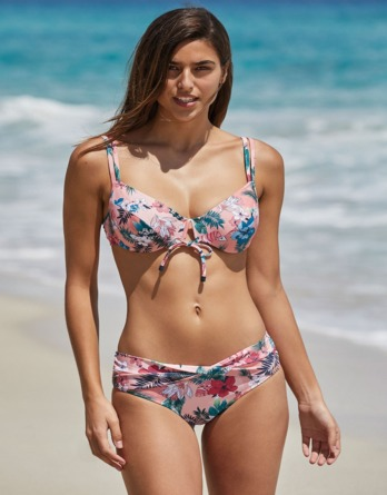 Bikini mujer aro reductor copa C 81353 Ysabel Mora