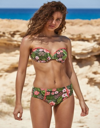 Bikini mujer bandeau copa C 81467 Ysabel Mora