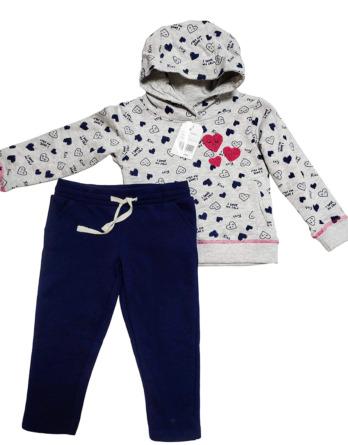 Conjunto de leggings de niña flores